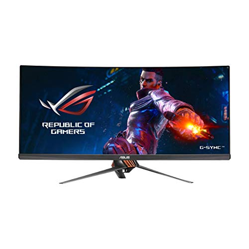 """ASUS ROG Swift PG348Q 34"""" Gaming Monitor Curved Ultra-Wide"""