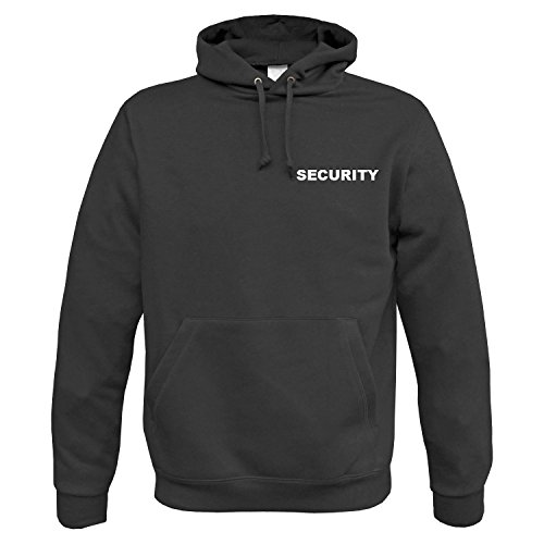 BW-ONLINE-SHOP Security Hoodie schwarz - M