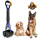 Balhvit Long Handle Portable Pet Pooper Scooper for Dogs, with Non-Breakable High Strength Durable Spring & Premium...