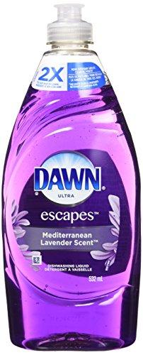 Dawn Ultra Botanicals Dishwashing Liquid Dish Soap, Lavender, 523 mL