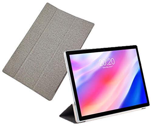 Funda para tableta Teclast P20HD, M40 o P20 de 10,1pulgadas, sujeción resistente, diseño con tapa y función de soporte