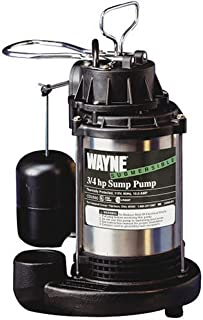 Wayne CDU980 3/4 HP Stainless Submersible Sump Pump