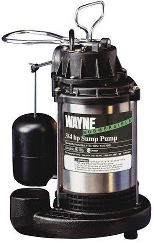 Wayne CDU980 3/4 HP Stainless Submersible Sump Pump