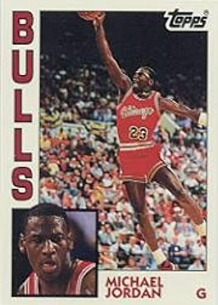 Amazoncom Topps Michael Jordan Archives Basketball Rookie Card