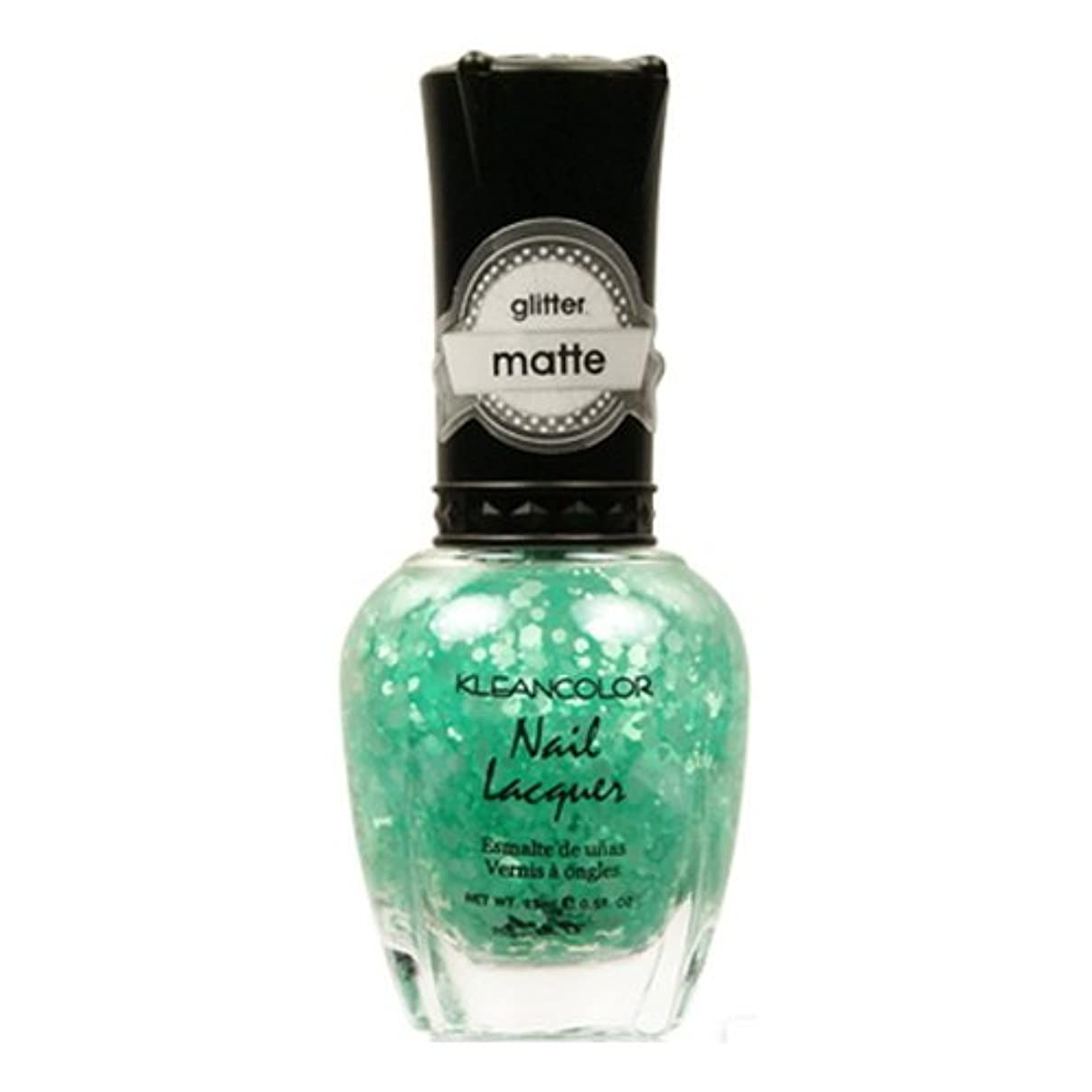 生活消える暖かさ(3 Pack) KLEANCOLOR Glitter Matte Nail Lacquer - On-Off Relationship (並行輸入品)