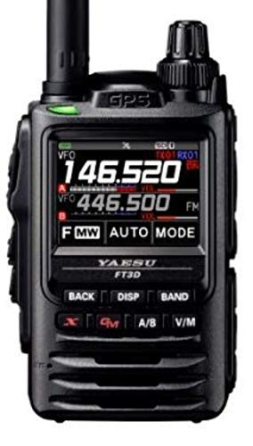 Yaesu FT-3DR C4FM/FM 144/430 MHz Dual Band 5 W Digital Transceiver mit Touch Screen Display