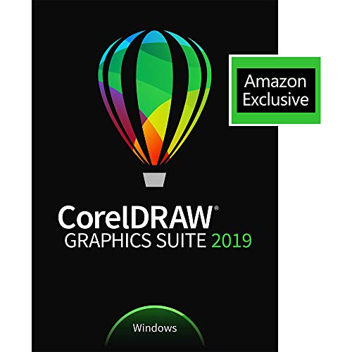 CorelDRAW Graphics Suite 2019 with ParticleShop Brush Pack for Windows - Amazon Exclusive [PC...