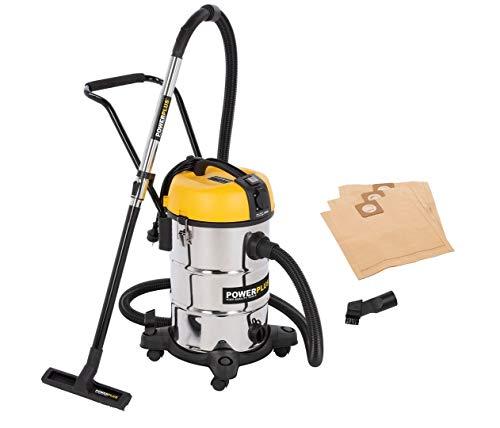 POWER plus POWX3240 Aspiradora en seco y húmedo (1200 W, 30 L)