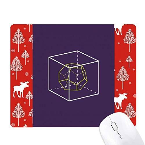 Alfombrilla de ratón con diseño de Cubo combinatorio geom�