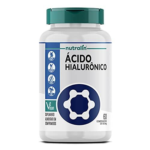 Acido Hialuronico Hidratação Pele Manchas 60 Caps Nutralin
