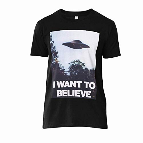 X Files I Want to Believe T Shirt