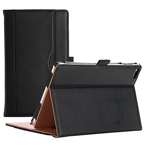 ProCase Lenovo Tab 4 8 Case - Stand Folio Case Protective Cover for Lenovo Tab 4 8' Tablet (TB-8504F / TB-8504X) 2017 Release –Black