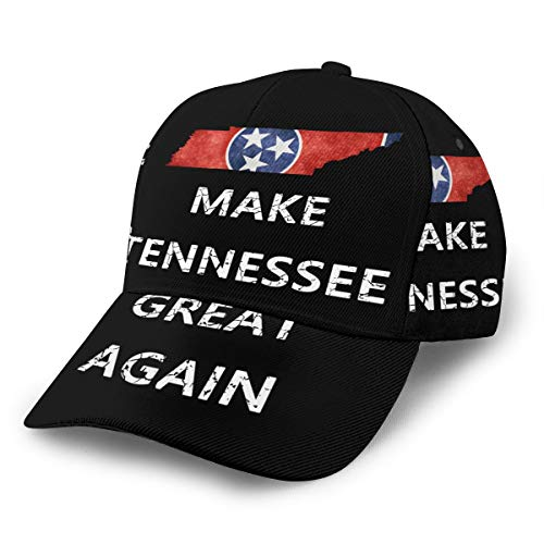 Make Tennessee Great Again Dad Hat Classic Baseball Cap (Full Print) Panel Cap