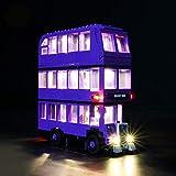 icuanuty Kit de Iluminación LED para Lego 75957, Kit de Luces Compatible con Lego Harry Potter Autobús Noctámbulo (No Incluye Modelo Lego)