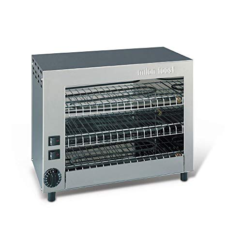 Milan Toast 491.012 Fornetto Barbecue 9 Zangen 430mm x 230mm x 350mm