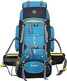TRAWOC 80L Travel Backpack for Outdoor Sport Camp Hiking Trekking Bag Camping Rucksack HK006 (Grey)...