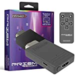 Retro-Bit Prism HDMI Adapter for GameCube - AV to HDMI Converter/Upscaler for 1080P Support