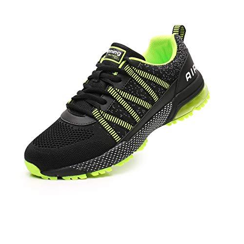 Zapatillas de Deporte Hombre Mujer Ligero Air Running Zapatos para Correr Respirable...