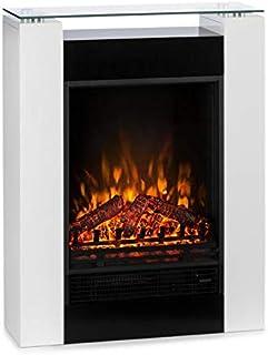 Klarstein Studio 5 Chimenea eléctrica - Radiador Calefacción 5 Niveles Brillo 900 ó 1800 W Silenciosa Temperatura Aju...