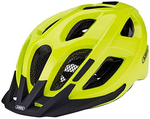 ABUS Unisex-Erwachsene ADURO 2.0 Road Helm, neon Yellow, M