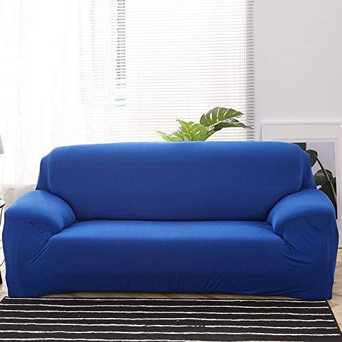 WXQY Fundas Antideslizantes elásticas de Color sólido Funda de sofá Antideslizante Funda de sofá para Mascotas Esquina en Forma de L Funda de sofá Antideslizante A5 4 plazas