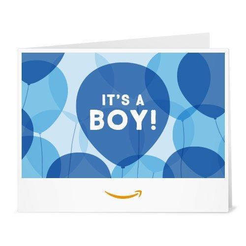 Amazon Gift Card - Print - It's a Boy Balloons