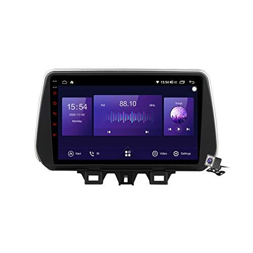 Android 10 9 Pollici Autoradio Multimediale per Hyundai Tucson 2019-2020 Supporto Navigatore GPS/FM AM RDS/MP5/Bluetooth Vivavoce/Carplay Android Auto/Controllo del Volante,7862: 6+128gb