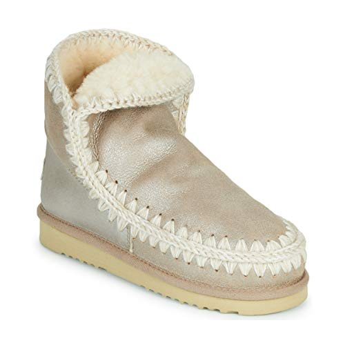 Mou Eskimo 18 Stiefelletten/Boots Damen Gold - 35 - Boots Shoes