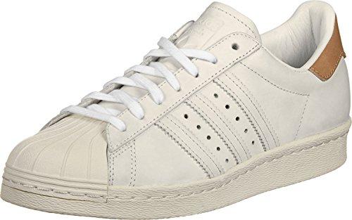 adidas Originals adidas Superstar 80 S Damen Sneaker Weiß, Footwear White/Off White, 39 1/3 EU