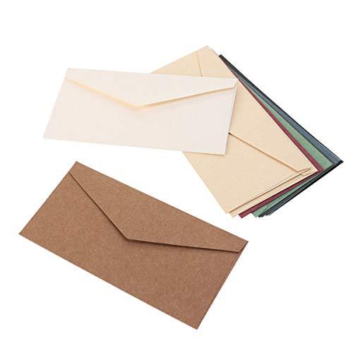 Toyvian Sobres de papel kraft de 10 unidades para invitaciones de boda Baby Shower