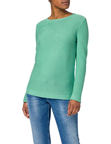 Tom Tailor 1016350 Ottoman Pullover Jersey otomano, 25986/Soft Leaf Green, XXL para Mujer