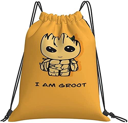 NIUPEE Baby Groot - Mochila deportiva para hombre y mujer