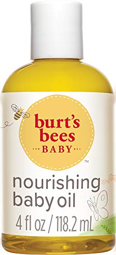 [3 Pack] Burt's Bees Baby Nourishing Baby Oil 4oz Bottles $7.21