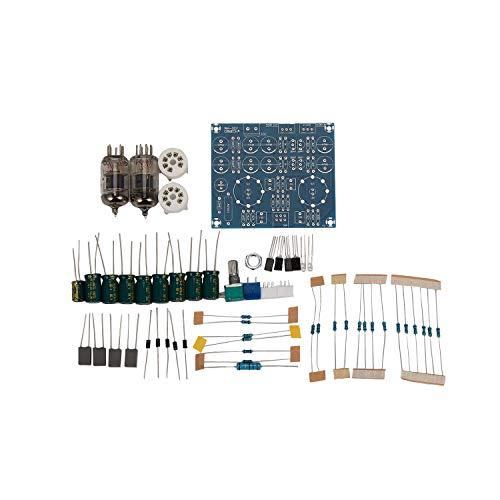Gesh Hifi tubo de vacío preamplificador Junta válvula electrónica amplificador Ac12V DIY...