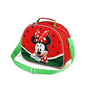 Karactermania Minnie Mouse Sandía – Bolsa Portameriendas 3D, Multicolor