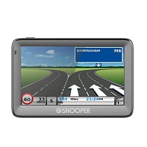 Snooper Ventura S5100 EU Satelliten-Navigationssystem für Wohnwagen und Wohnmobil mit 12,7 cm (5 Zoll) Bildschirm, integrierter TMC und umfangreichen Sehenswürdigkeiten