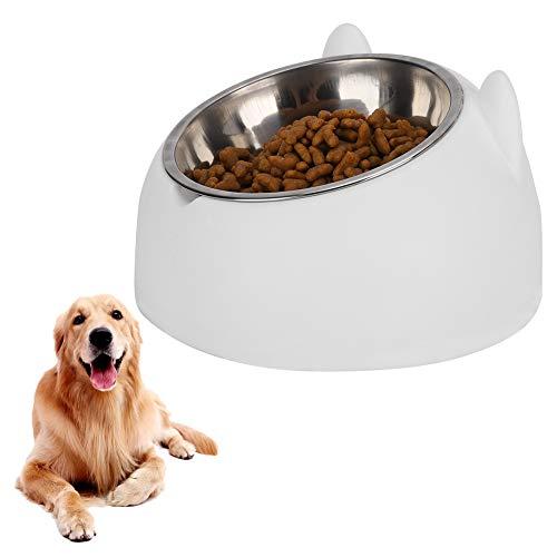 HYM Pet Cat Food Food Bowl Steel Acciaio Inox Food Water...