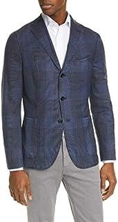 [ボリオリ] メンズ ジャケット・ブルゾン Trim Fit Plaid Wool Sport Coat [並行輸入品]