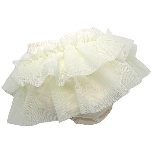 プラチナインターナショナル platinumbaby プラチナムベイビー ダブルチュールブルマスカート 70-90cm バニラチュール