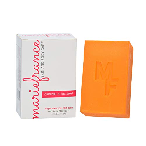 Pure Kojic Acid Soap (Maximum Strength) for Dark Spots & Hyperpigmentation,...