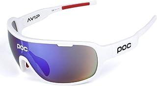 applemi Gafas De Ciclismo Deportivas Gafas De Sol Polarizadas, Lentes Intercambiables, ProteccióN Uv 400, Gafas De Sol Deportivas Antivaho Hd Para Ciclismo, Pesca, Carrera, ConduccióN, Golf