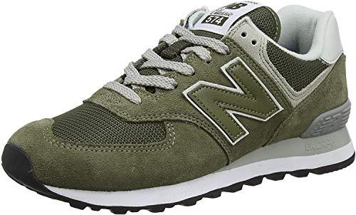 new balance 574 hombres verde