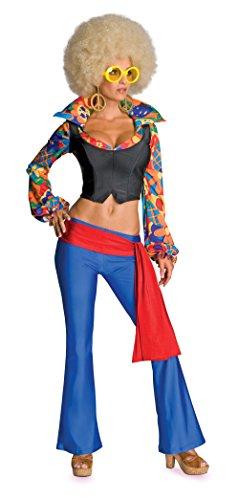 Secret Wishes Women's Make Love Not War Adult Costume,Multicolor,Mediu