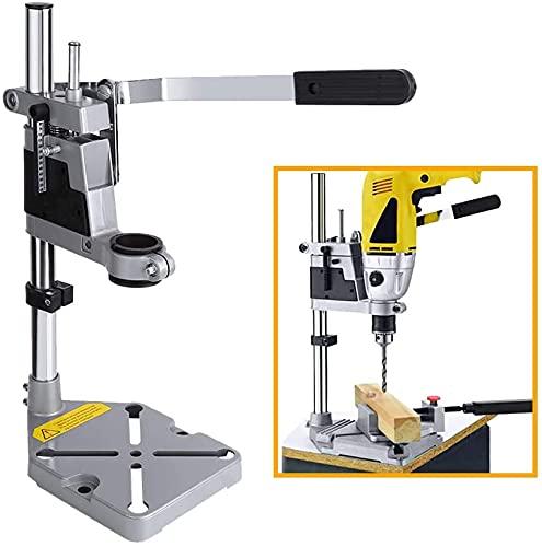 Soporte de prensa para taladro de banco, soporte de taladro eléctrico montable, herramienta de banco de trabajo, abrazadera de pedestal