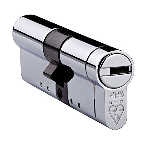 Avocet ABS High Security Euro Cylinder - Anti Snap Lock - TS007 3 Star (45(INT) x35(EXT), Chrome)
