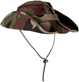 FEOYA Chapeau Fisherman Boonie Hat Bobs Randonn/ée Chapeau de Soleil Brousse Plage Anti-UV Solaire Toile Femme Homme Voyager P/êche Chapeau Australien /à Large Bord Militaire Camouflage