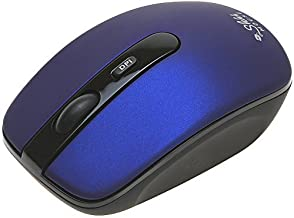 ShhhMouse Wireless Ergonomic Mouse for Laptop & Computer with USB, Silent Cordless Mice with 3 Adjustable DPI Levels for C...