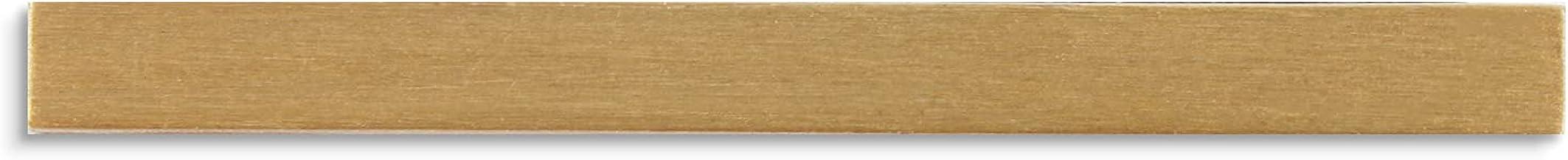 Larcele 1.29inch/33mm Self-Stick Koper Modern Huisnummer Adres Nummers Mailbox Nummer MPH-05 (Gouden Dash)