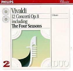 Vivaldi: 12 Concerti Op. 8 including