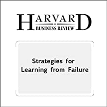 Best strategies for learning from failure Reviews